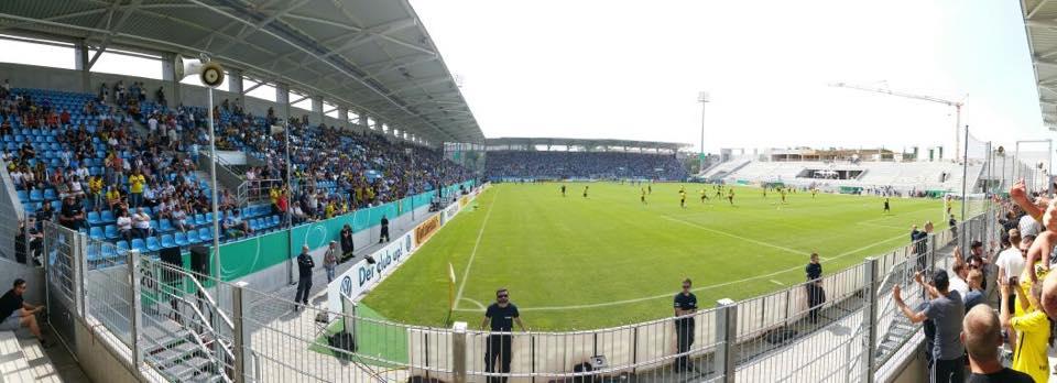 DFB-Pokal 15/16, 1.Runde: Preußen zu Gast im Sachsenland